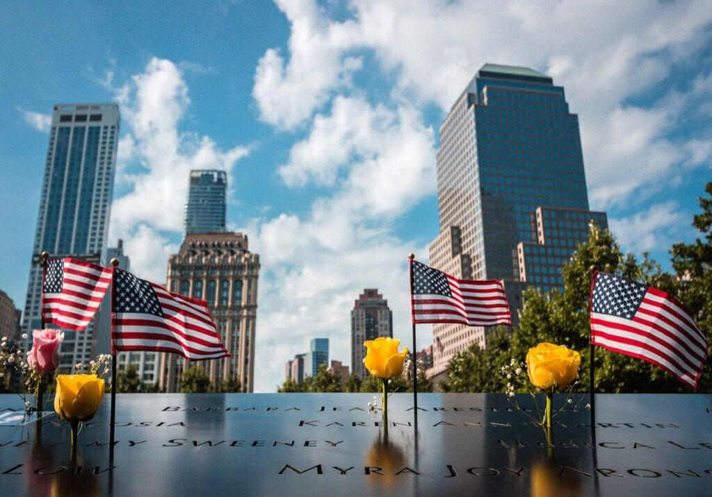 american-flags-at-911-memorial-in-new-york-city